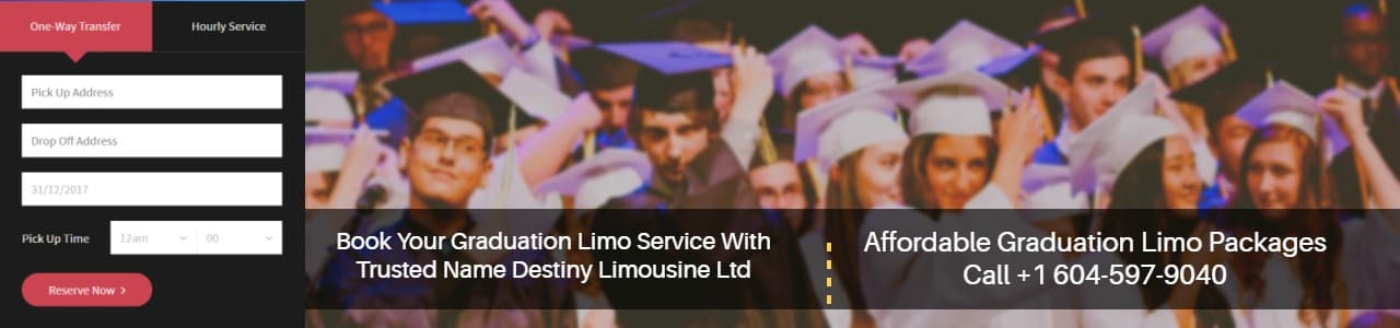 Graduation Limo Vancouver Packages