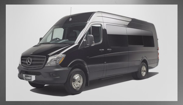 Mercedes Sprinter Shuttle Van